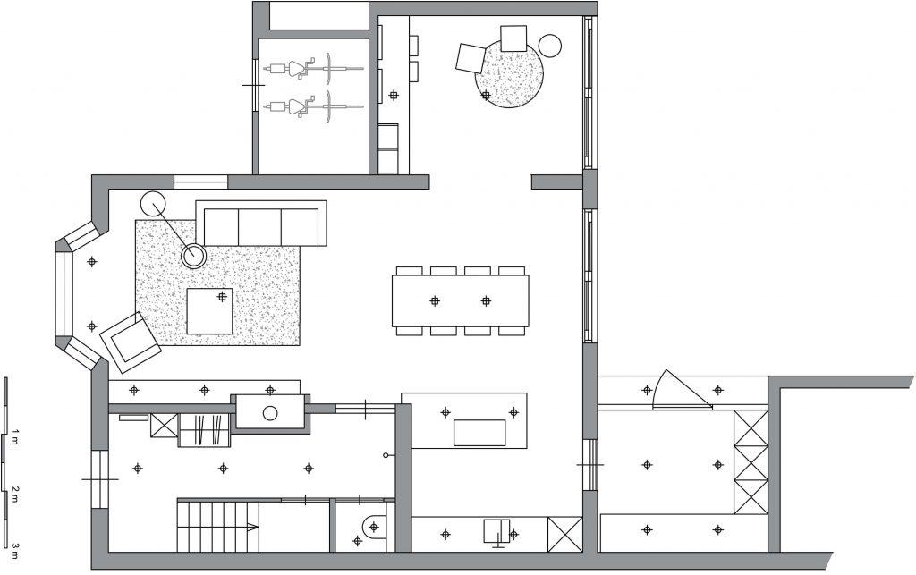 Studio Westgeest_woonhuis Velp_plattegrond